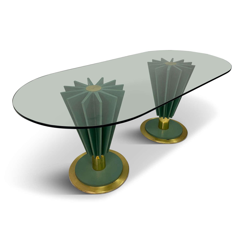1970s Italian Dining Table by Pierre Cardin