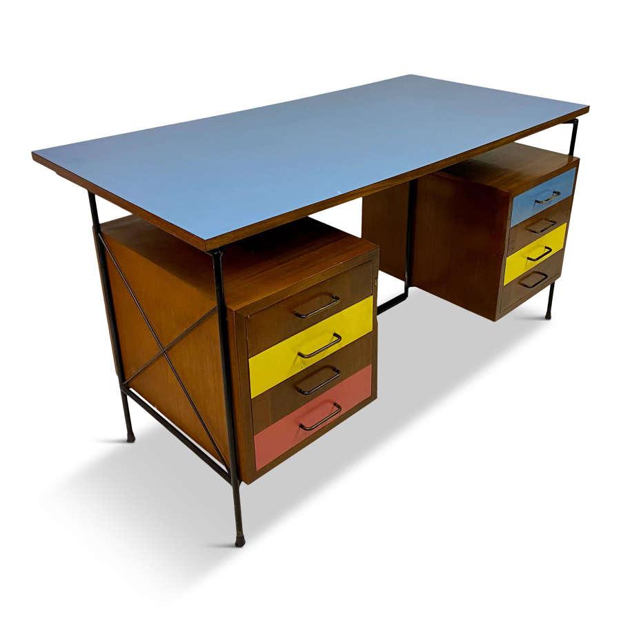 1950s Italian Desk by Giuseppe Postiglione