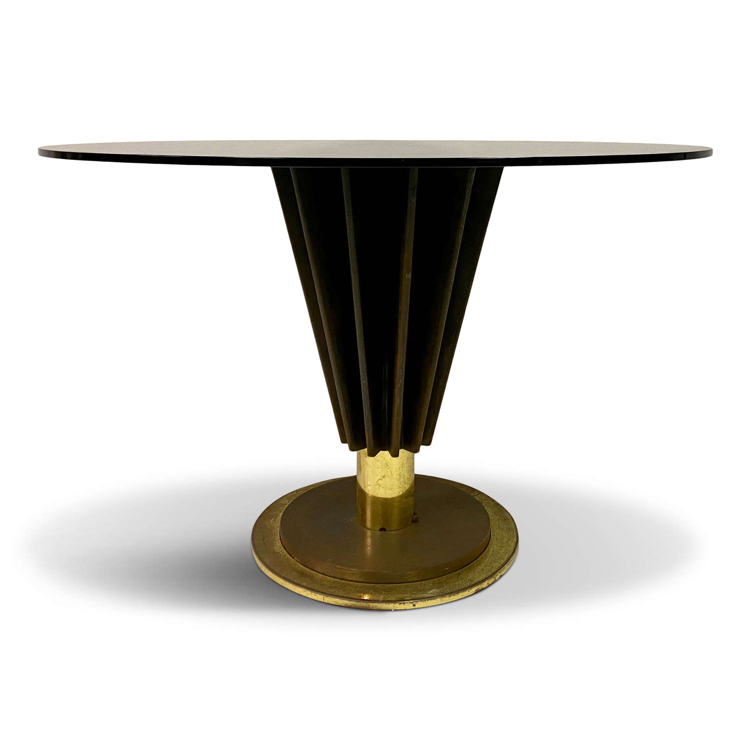 1970s Round Dining Table by Pierre Cardin