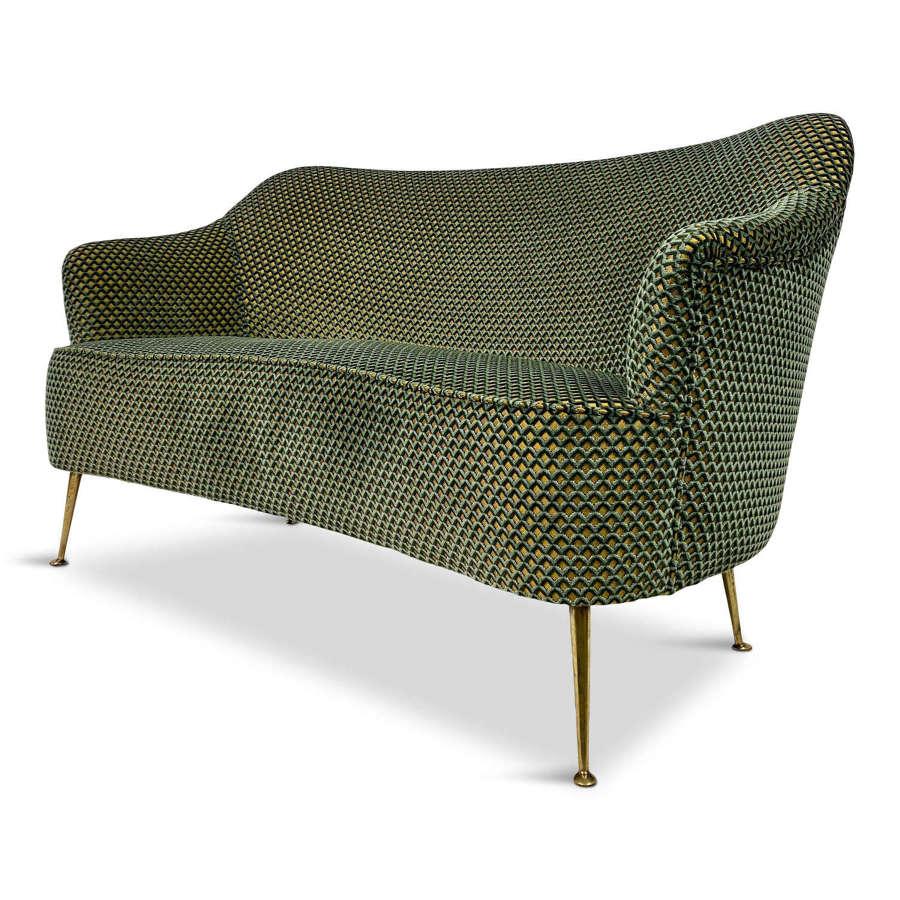 1950s Italian Two Seater Sofa